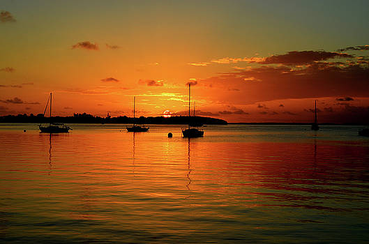 Key Largo Sunset by David Cabana