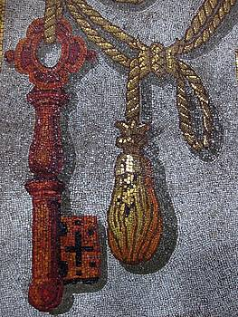 Key - St. Peter's Basilica Dome by Patricia King