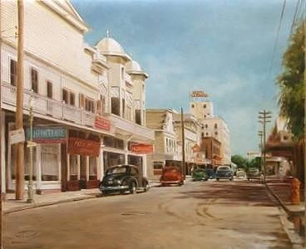Key West 1950 by Denis Eutikhiev