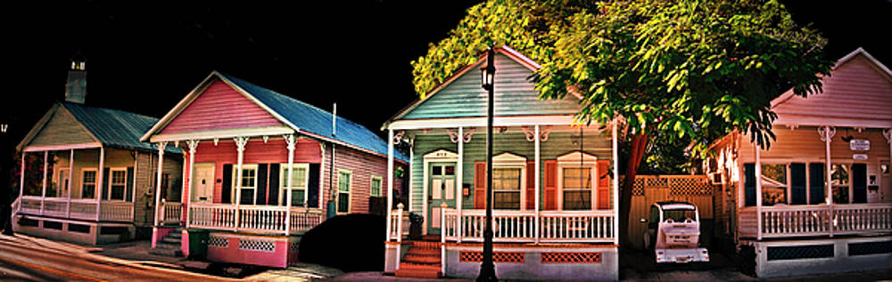 Key West Conch Houses by Perry Frantzman