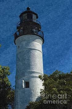Key West Florida Lighthouse by Jennifer Capo