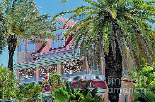 Key West Historic Pink House by Janette Boyd