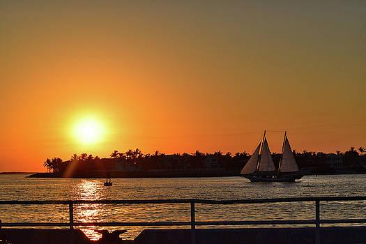 Key West Spring Sunset by Maria Keady