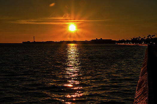 Key West Sunset 34 by Bob Slitzan