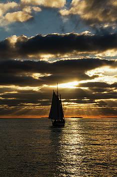 Key West Sunset 35 by Bob Slitzan