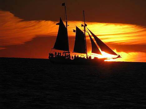 Keywest Sunset by Chinmay Dipanker