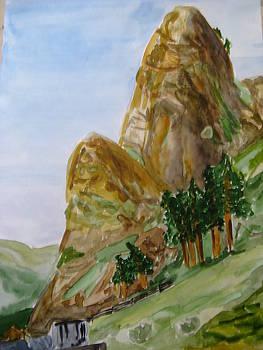 Khakassia Landscape by Maria Degtyareva