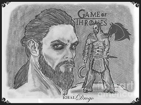 Khal Drogo -Dothraki Warlord by Chris  DelVecchio