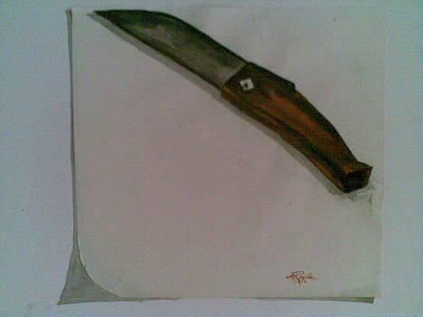 Khasi Knife by Lalhmunlien Varte