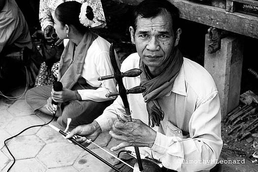 Khmer Music Man by Timothy Leonard