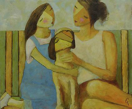 Kid Dog Mom by Glenn Quist