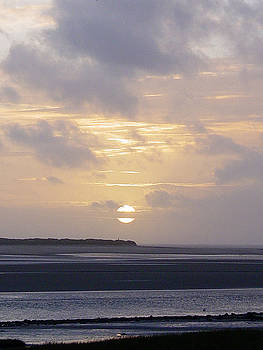 Kidwelly Sunset by Melanie Hunter