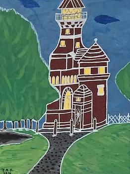 Kiel Germany lighthouse. by Jonathon Hansen