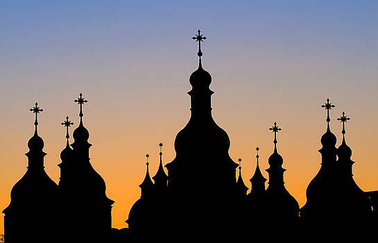 Kiev church by Kobby Dagan