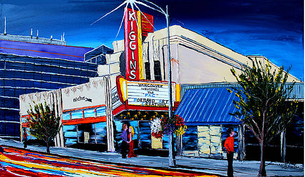 KigginsTheater #1 by Portland Art Creations