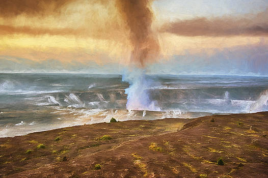 Kilauea at Sunrise by Lynn Andrews