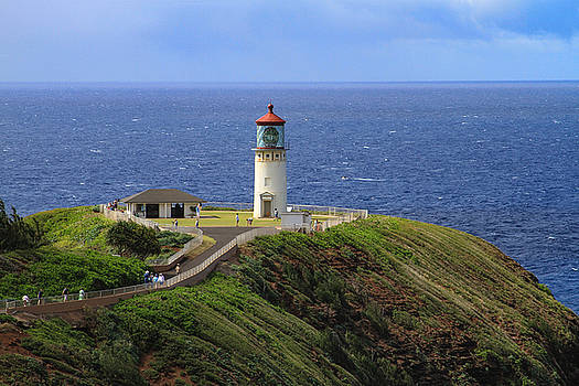 Kilauea Point Lighthouse by Bonnie Follett