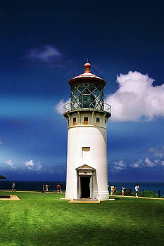 Kilauea Point Lighthouse by Dennis Begnoche
