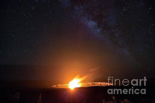 Daniel Knighton - Kilauea Volcano with Milky Way 2