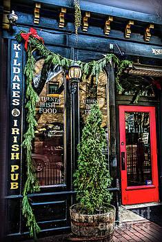 Sandy Moulder - Kildares Irish Pub at Christmas