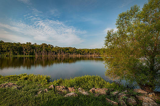 Kill Creek Lake by Clay Swatzell