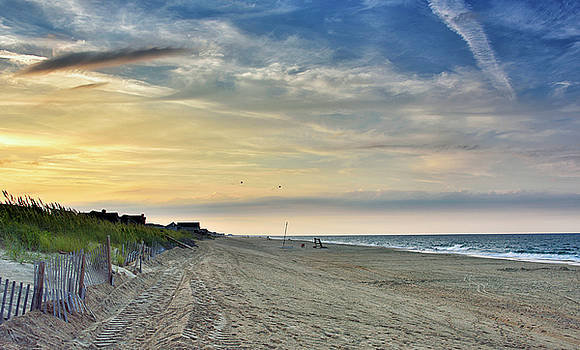 Kill Devil Hills Sunset - Outer Banks by Brendan Reals