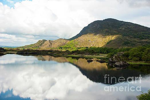 Killarney reflections by Joe Cashin