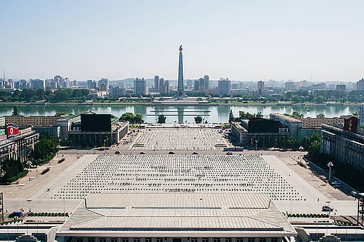 Kim Il-sung Square in North Korea by Matt Perry