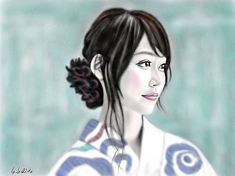 Kimono girl No.12 by Yoshiyuki Uchida