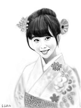 Kimono Girl No.13 by Yoshiyuki Uchida