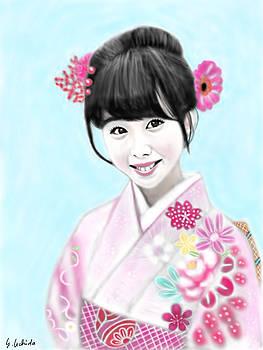 Kimono Girl No.14 by Yoshiyuki Uchida