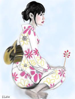 Kimono girl No.16 by Yoshiyuki Uchida
