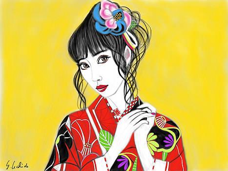 Kimono Girl No.20 by Yoshiyuki Uchida