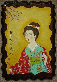 Kimono Lady by Silvia Gold