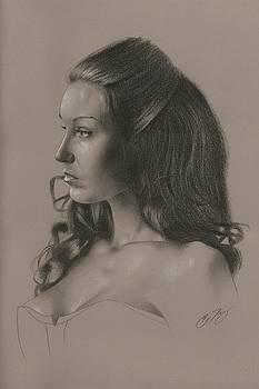 Kim's Portrait by Brian Duey
