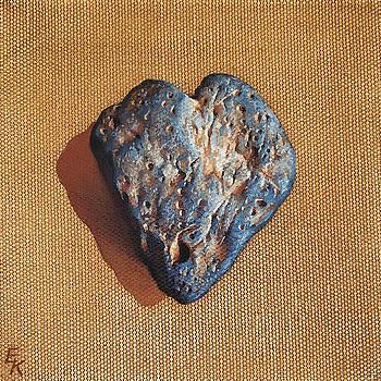 Kind heart by Elena Kolotusha