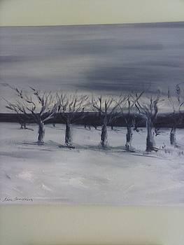 Kinderhook Apple Trees by Lisa LaMonica
