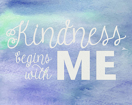 Kindness Begins With Me blue by Emily Smith