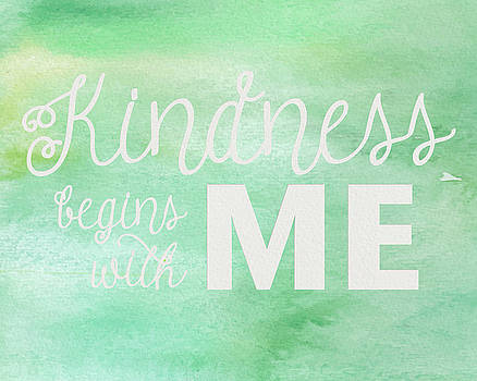 Kindness Begins With Me Green by Emily Smith