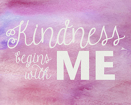 Kindness Begins With Me Pink by Emily Smith
