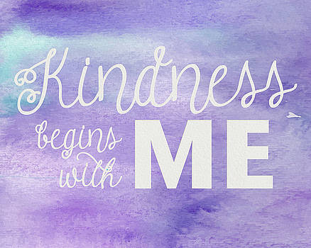 Kindness Begins With Me Purple by Emily Smith