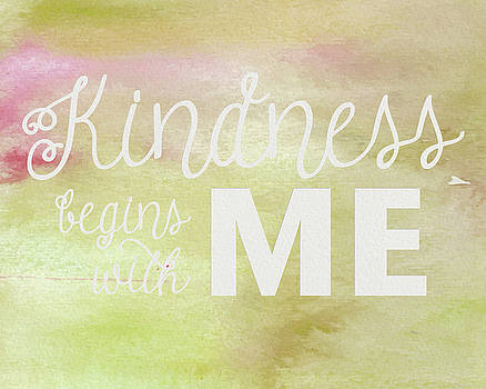 Kindness Begins With Me Yellow by Emily Smith