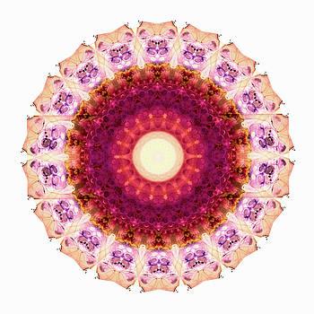 Sharon Cummings - Kindness Mandala Art by Sharon Cummings