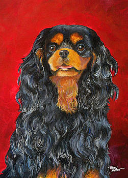 King Charles Cavalier Spaniel by Terry Albert