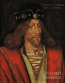 Peter Ogden - King James I of Scotland circa 1425 by Unknown