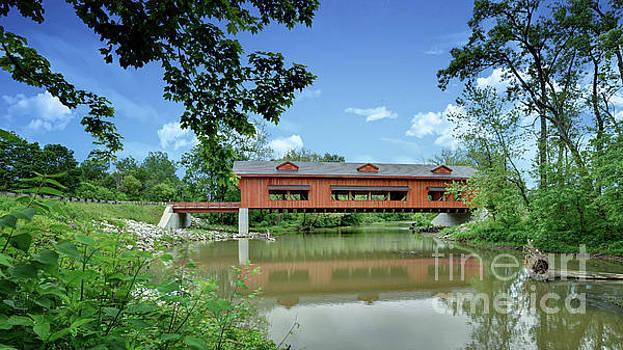 King Mill Bridge 5 by Brian Mollenkopf