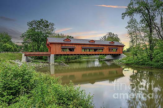 King Mill Bridge 6 by Brian Mollenkopf