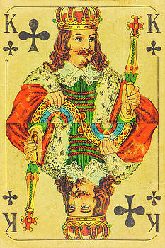 King of Clubs by Martin Bergsma