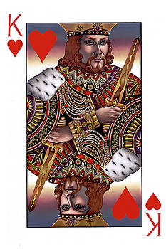 King of Hearts by Jane Whiting Chrzanoska