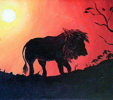 King Of The Jungle by Portland Art Creations